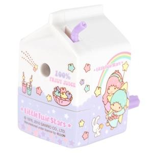 New Sanrio Little Twin Stars Cute Milk Box Shape Pencil Sharpener Purple | eBay <3