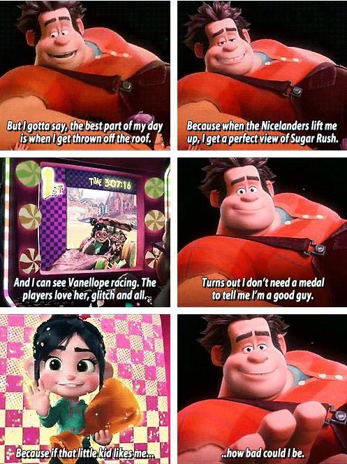 How bad could I be? That final line is probably one of the best closing lines for a Disney movie :)
