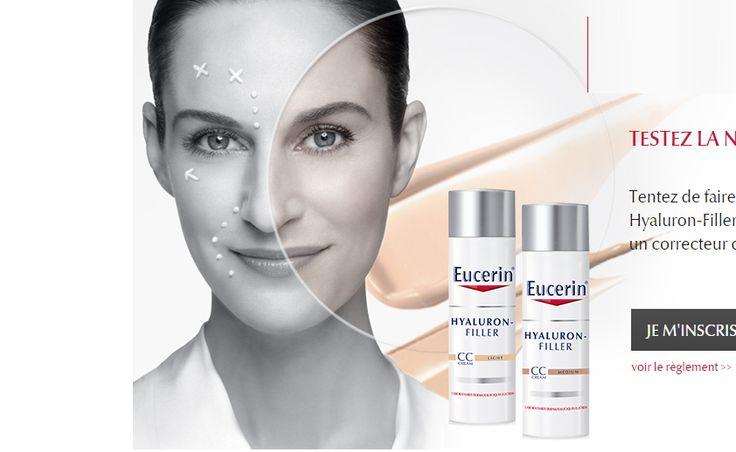 100 Soins Eucerin Hyaluron-Filler CC Cream GRATUITS