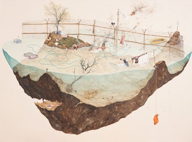 경계의 섬 Island of Borders - LEE JIN JU