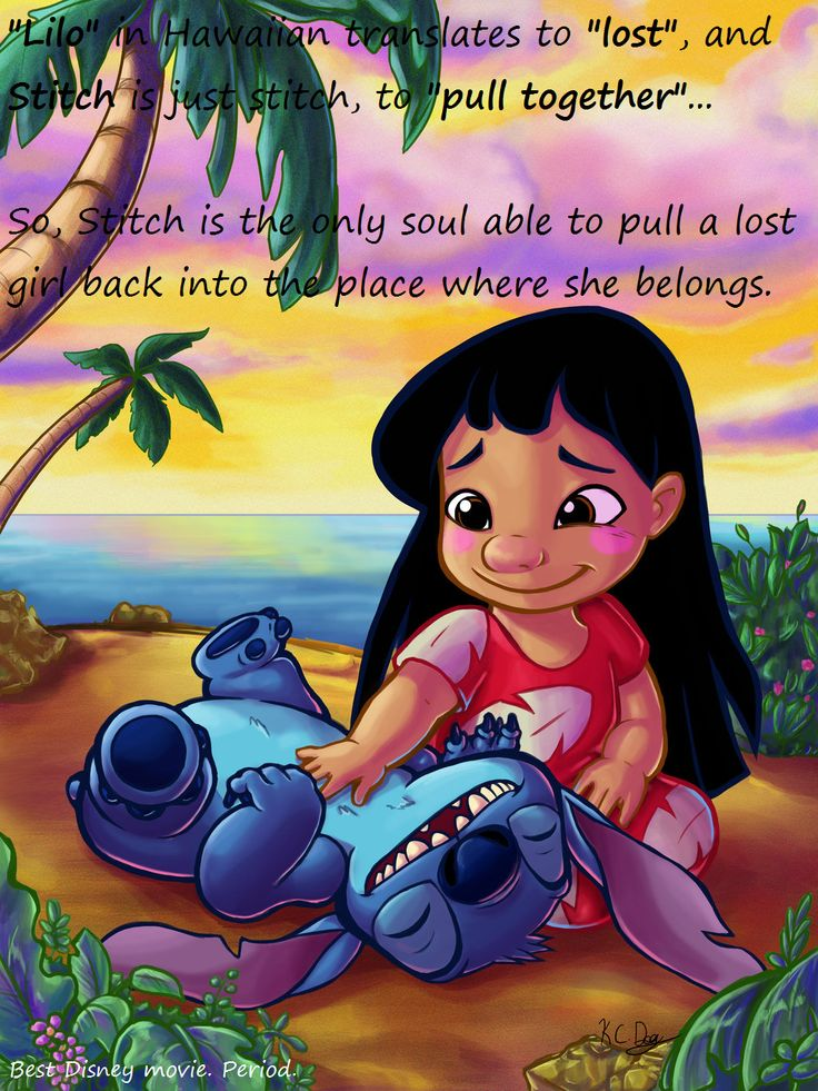 Lilo and Stitch has so much hidden meaning, and symbolism ...