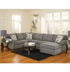 Harper Collection Sectional from Art Van  sc 1 st  Pinterest : art van sectional - Sectionals, Sofas & Couches