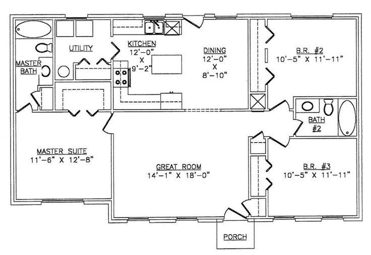 Lth016 Steel Frame Home Kit Floor Plan House And Land