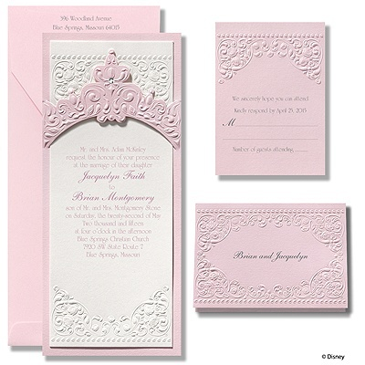 186 best invitations images on pinterest beautiful cards and princess aurora pink wedding invitations for an invitation guide https stopboris Image collections