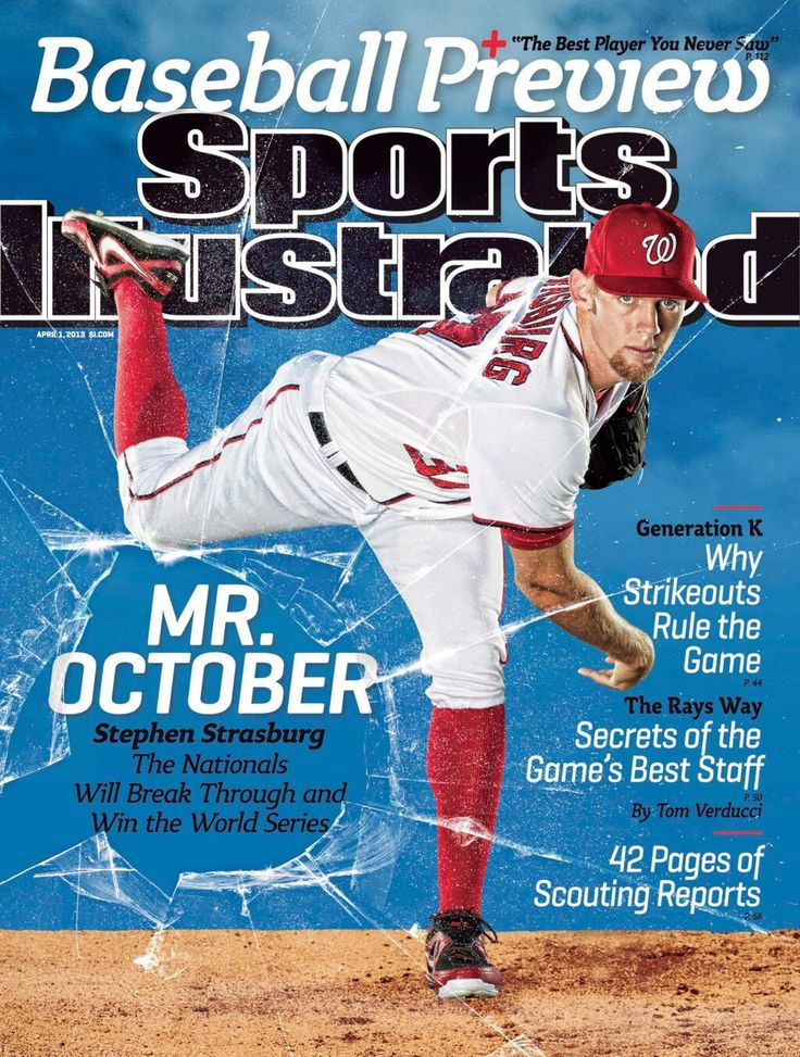 Sports Illustrated - Stephen Strasburg and the Washington Nationals projected to WIN the 2013 World Series