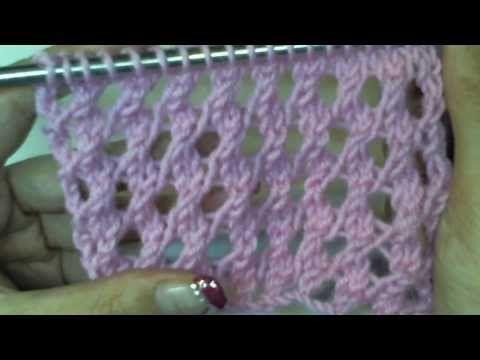 MAGLIA 39: MAGLIA RASATA CON FORI - YouTube
