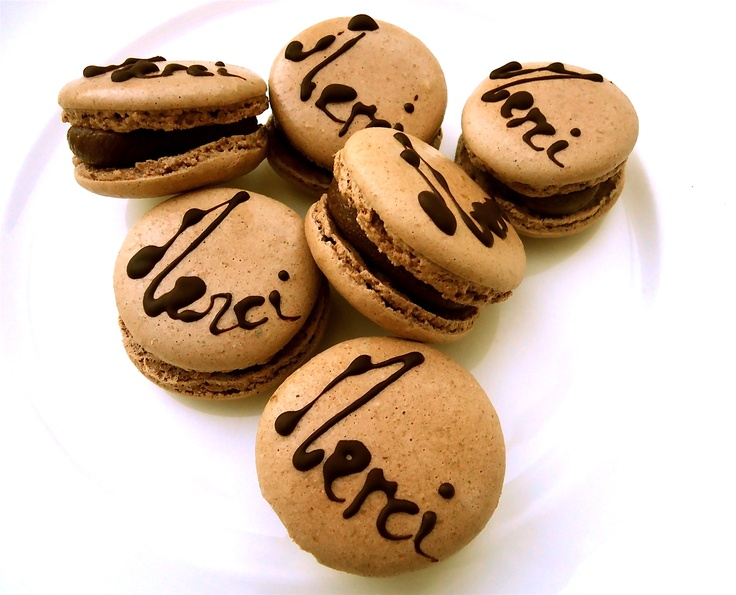 On our anniversarry month we had special #MERCI #macarons! Sweet delight for our guests!
