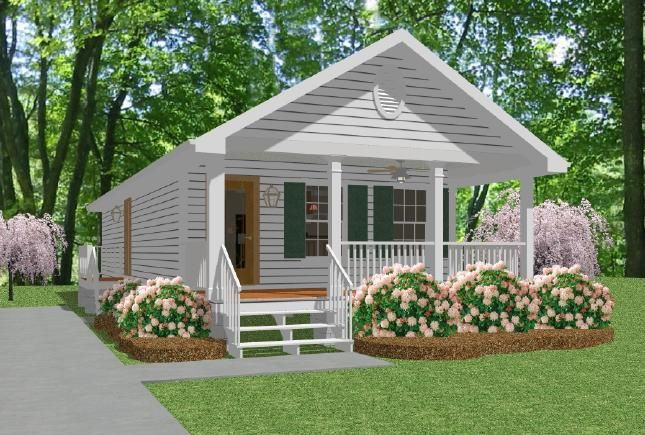 Mother in law house plans great mother in law cottage for Small house plans with mother in law suite