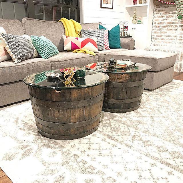 Best 25+ Whiskey barrel coffee table ideas on Pinterest ...