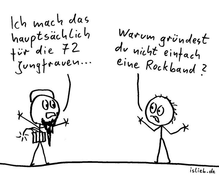 Jungfrauen | #islieb #cartoon
