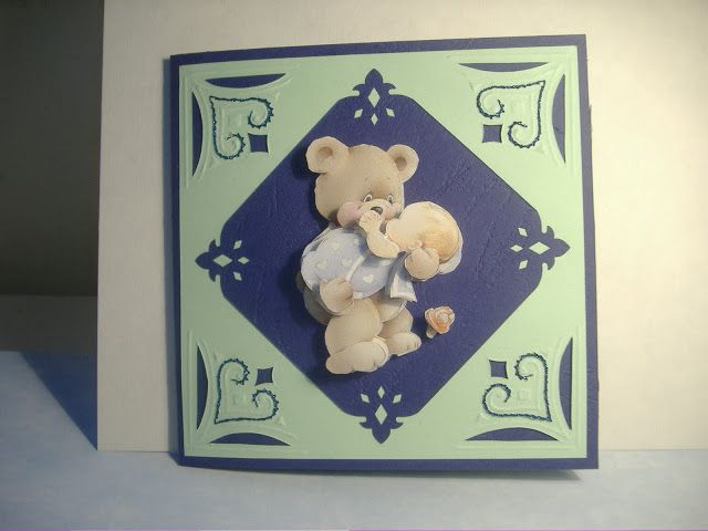 babaváró képeslap