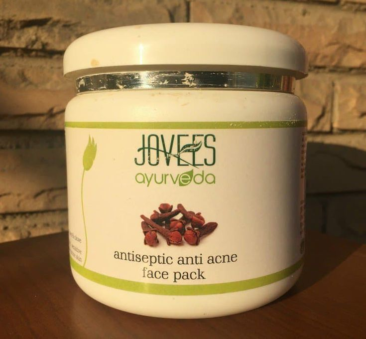 Best Face Pack for Pimples : Jovees Anti Acne Face Pack Review