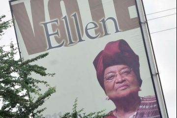 Ellen Johnson Sirleaf, Liberia (elected President in 2005; re-elected in 2011)