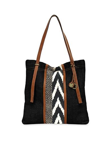 Lucky Brand Handbags Kendal Linen North/South Tote -  Constructed in washed linen canvas with a faux leather trim, you are sure to love this tote! It will carry all of your essentials in style.