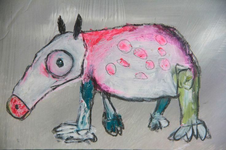 Strange Animals Simona frigerio drawings