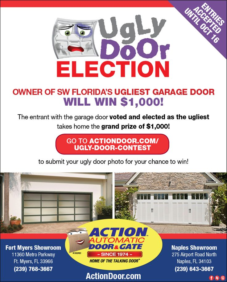Send Your Entries To Get The Chance Win 1 000 In Action Door S Ugly Contest