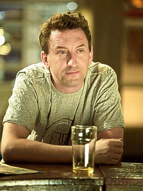Lee Mack. I first saw him on QI with Stephen Fry and Alan Davies. Then I stumbled upon a show called 'Not Going Out'. It's a lot of fun.