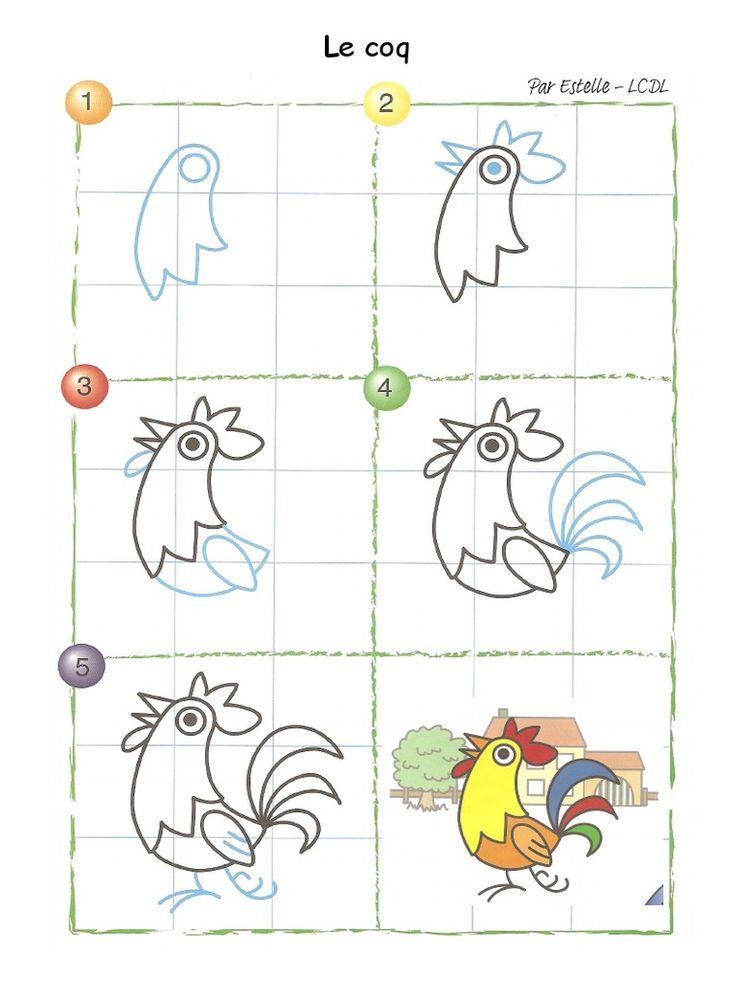 tegning nem hane kat af drawing easy drawings