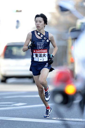 箱根駅伝の名選手。東洋大の設楽啓太。兄弟揃ってマラソンエース。