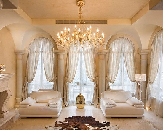 mesmerizing elegant living room decorating | , Mesmerizing Mediterranean Living Room With Admirable ...