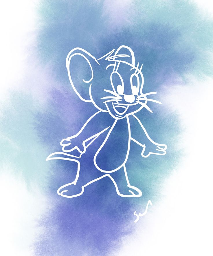 drawing jerry simple quirky tom created effective yet fun adobe