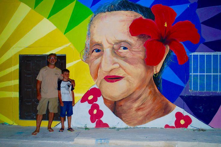 Street art in town