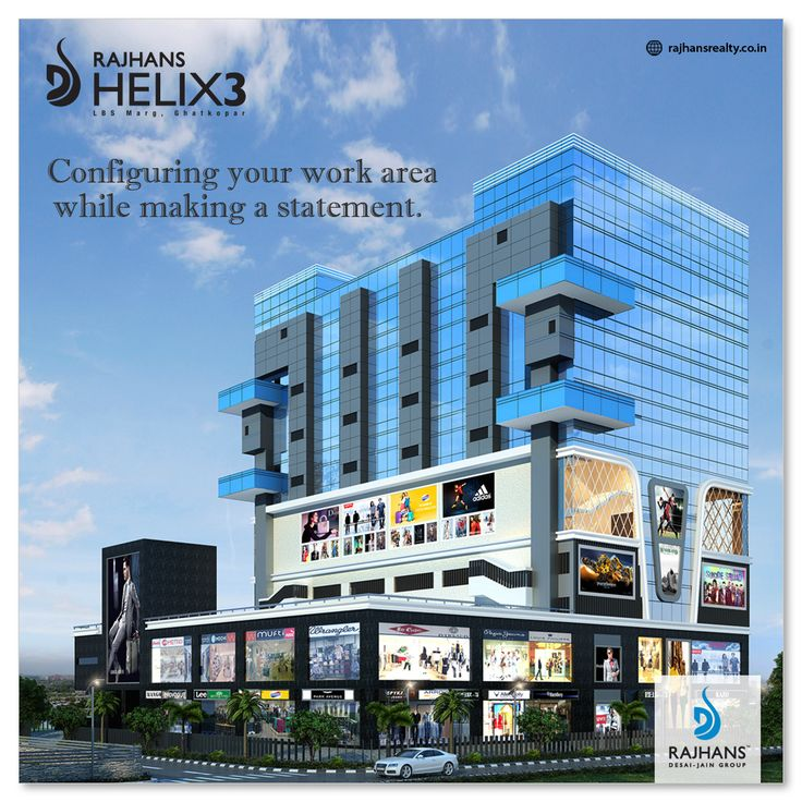 Configuring your work area while making a statement. #RajhansHelix3 #Mumbai #RajhansRealEstate