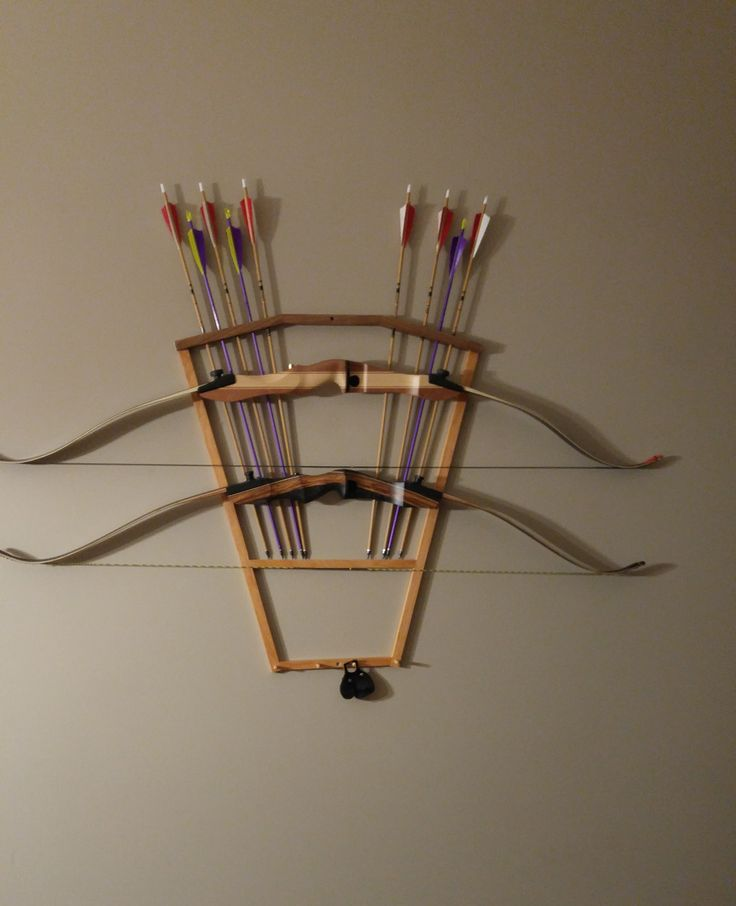 1000 Ideas About Bow Rack On Pinterest Archery Hunting