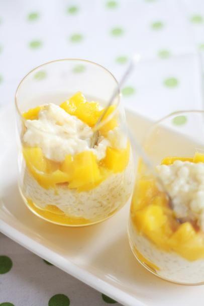 Mango-riisivanukas #mango #vanukas