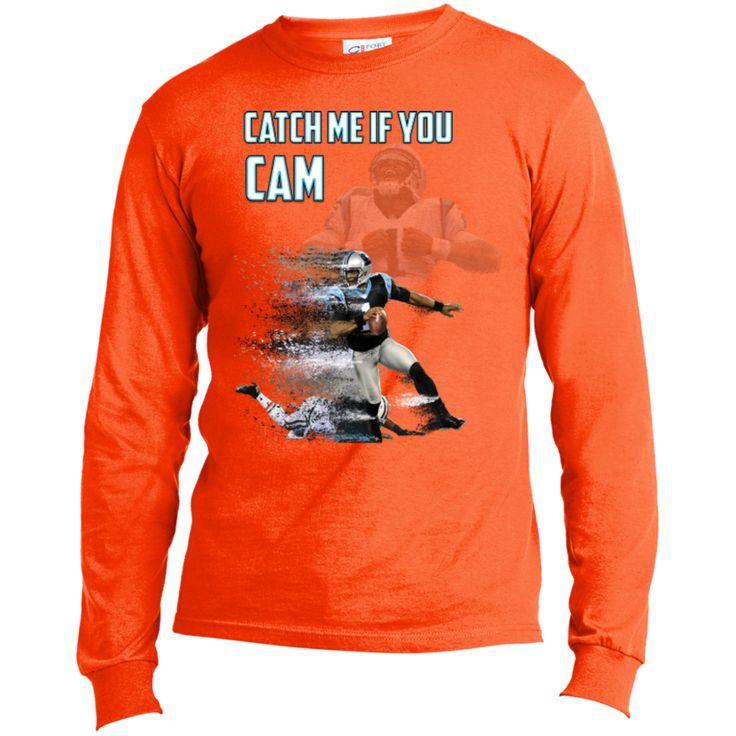 Cam Newton Panthers Custom Designed Fan Long Sleeve T-Shirt
