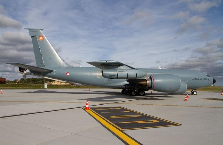 Latająca cysterna / Flying #cistern #Boeing #KC-135 #Stratotanker; photo: Sebastian Elijasz