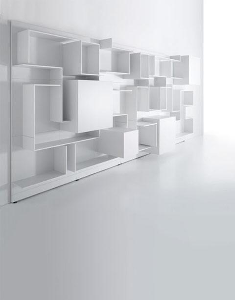 1000 images about designer 39 s picks modular wall storage. Black Bedroom Furniture Sets. Home Design Ideas