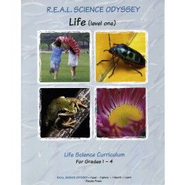 Explore life science with this activity-packed course! Your elementary students will learn what life is and investigate cells, the human body, the animal kingdom, and the plant kingdom. Each lesson is introduced with a short amount of text that is expanded and developed in 2-3 activities. Activities include scientific experiments (with some integration of math and graphing), arts and craft projects, and observations. You'll get to watch a caterpillar turn into a butterfly, make an animal…