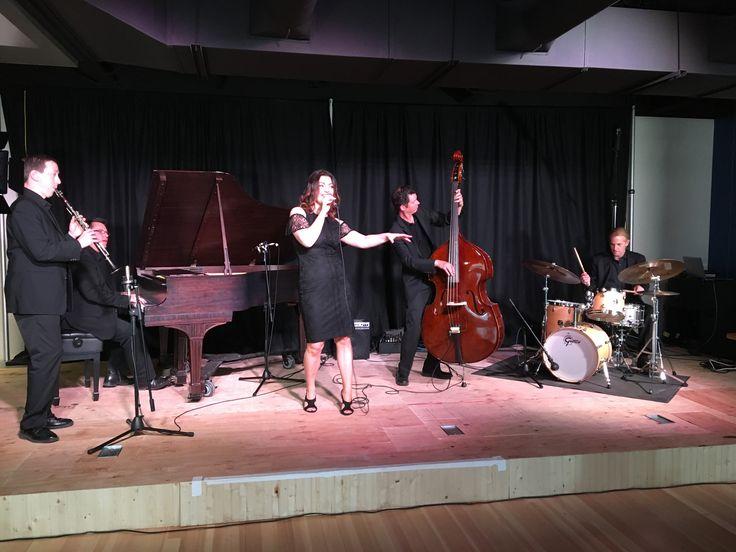Jazz vocalist Deanne Matley