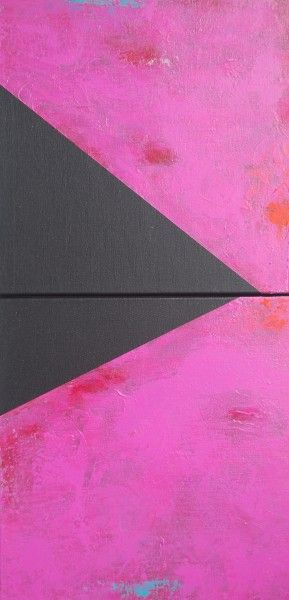 Lipstick Jungle. Acrylic on Canvas.24×12.Diptic