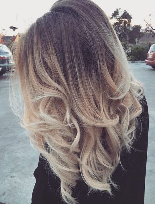 awesome Top 16 Looks Fresh Hair Color Ideas for 2017 Upscale Brunette To Blonde Ombre...