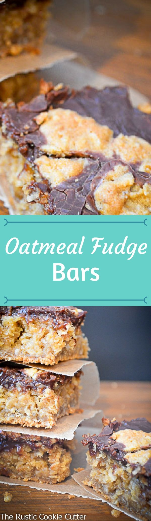 Bring in the New Year with this amazingly delicious Oatmeal Fudge Bar!  It's a great way to start the year!