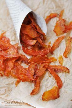 Kürbischips Rezept I Verpackungsidee I Geschenke aus der Küche I Casa di Falcone