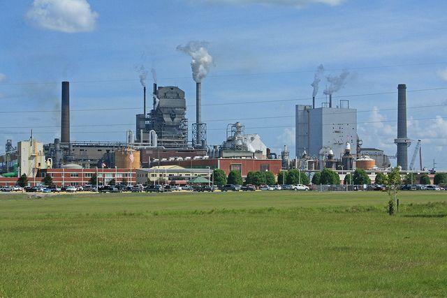 Rayonier Pulp Mill, Doctortown, Wayne County, Georgia