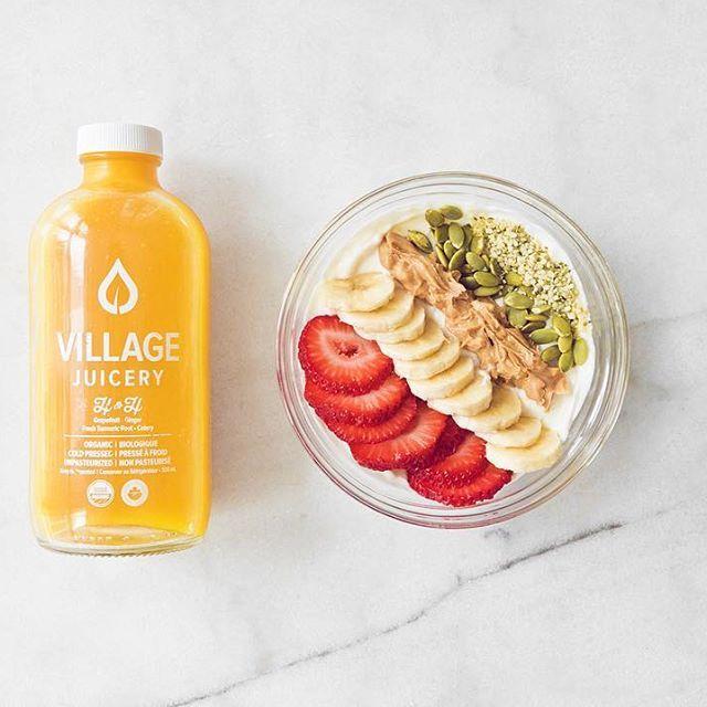 yogurt bowl ~ healthy breakfast ideas