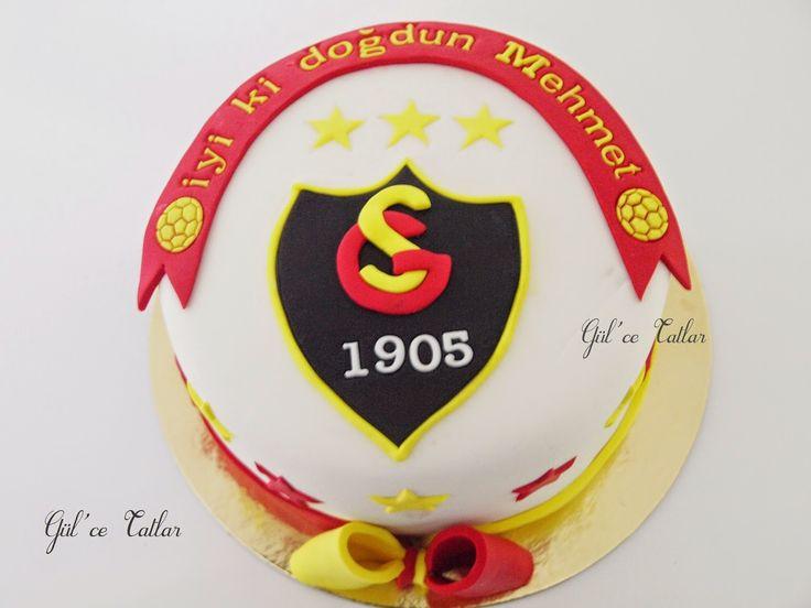 Galatasaray Temalı Doğum Günü Pastası ~ Gül'ce Tatlar