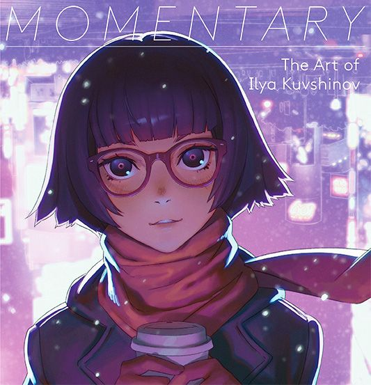 The first collection of works by the Japan-based Russian illustrator, Ilya Kuvshinov