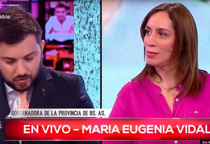 A tres días de las PASO, la gobernadora María Eugenia Vidal tuvo un fuerte discurso que dejó enmudecido al periodista que la cuestionó por promesas incumplidas. ¿Acaso Brancatelli le dio más votos a Cambiemos?