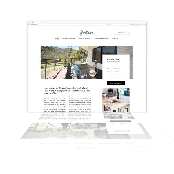 Golton in the Gap are a brand new accommodation property requiring a new branding solution including this WordPress CMS. Web development by Phunkemedia. www.phunkemedia.com