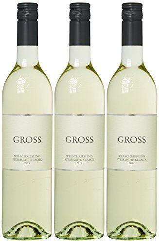 Weingut Gross Welschriesling STK Cuv�e 2014 (3 x 0.75 l)