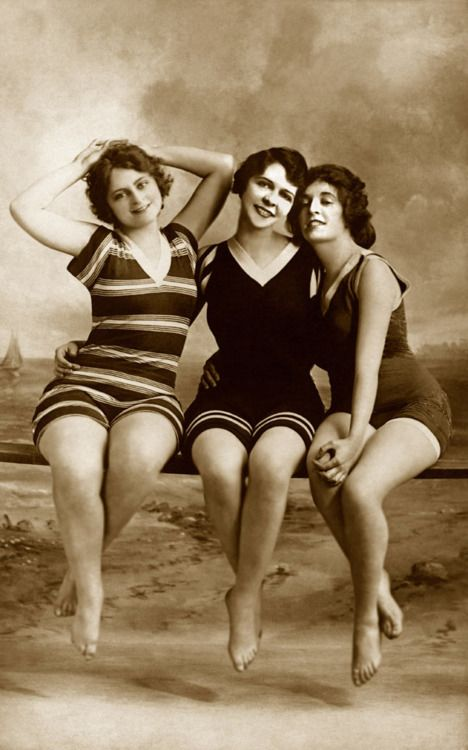 Bathing Beauties- some things dont change. i bet we all have one that looks like this :)