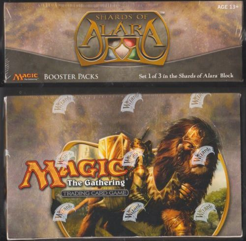MTG Complete Sets 19114: Shards Of Alara Magic The Gathering Mtg Booster Box Factory Sealed English -> BUY IT NOW ONLY: $308.75 on eBay!