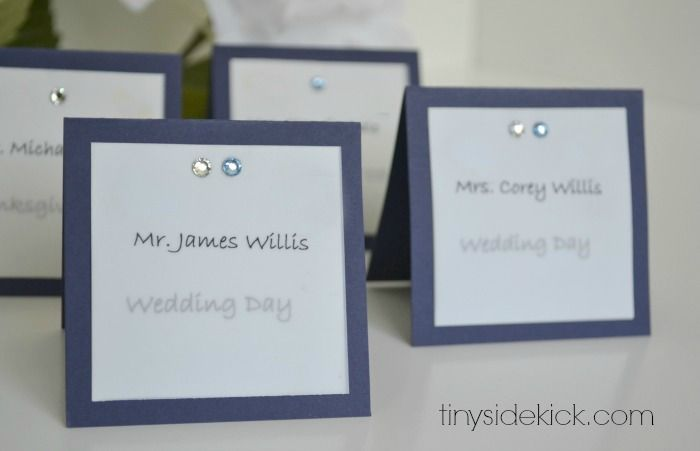 Do it yourself wedding place card ideas 28 images 10 diy wedding yourself wedding ideas wedding card do solutioingenieria Images