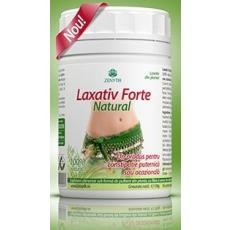 Laxativ Forte Natural o formula echilibrata de laxative de volum (fibre de in si psyllium) si laxative stimulante (senna), un produs destinat constipatiei puternice sau ocazionale.