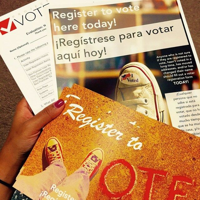 Voter registration training materials from our Nonprofit Partners Initiative.